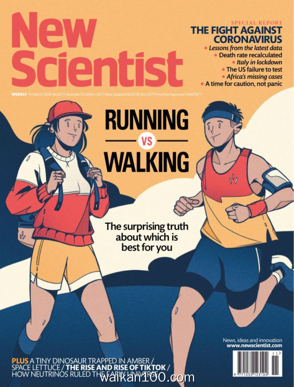 [澳大利亚版]New Scientist n Edition 14 3月刊 2020年 [30MB]