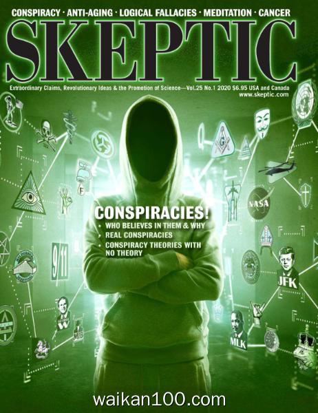 Skeptic 3月刊 2020年高清PDF电子杂志外刊期刊下载英文原版