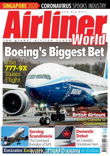Airliner World 4月刊 2020年 [29MB]