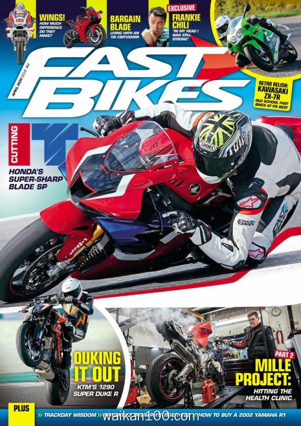 [英国版]Fast Bikes 4月刊 2020年 [97MB]