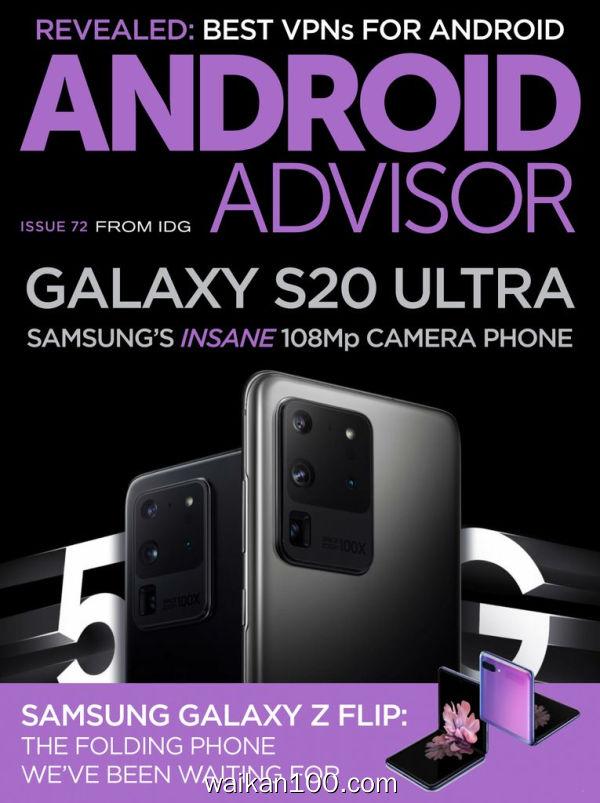 Android Advisor 3月刊 2020年 [25MB]