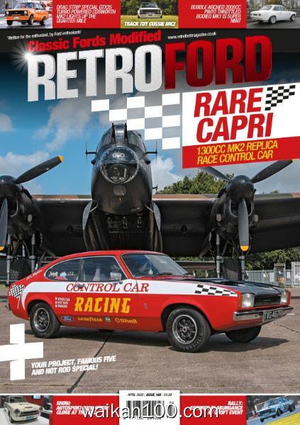 Retro Ford 总期数No.169 4月刊 2020年高清PDF电子杂志外刊期刊下载英文原版