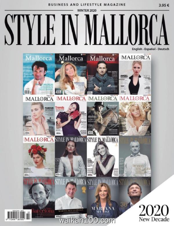 Style In Mallorca Winter 2019 2020年 [26MB]