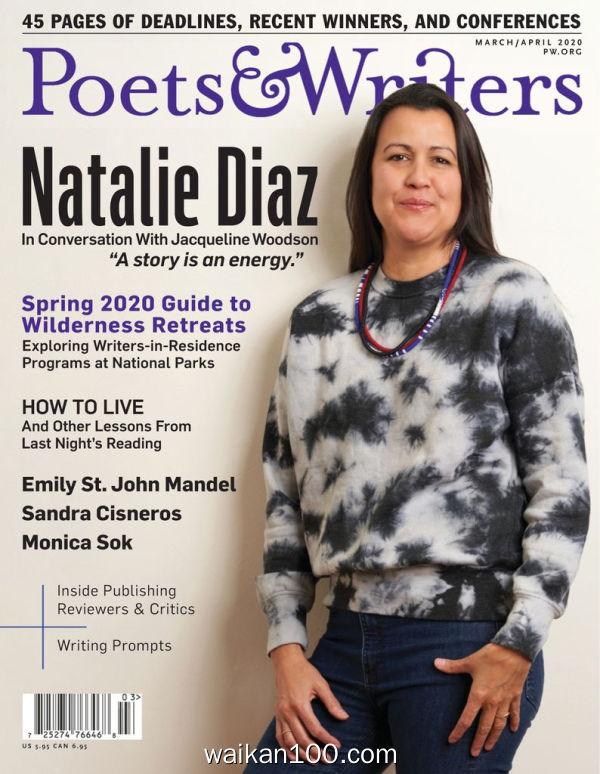 Poets&Writers 3月刊 2020年高清PDF电子杂志外刊期刊下载英文原版