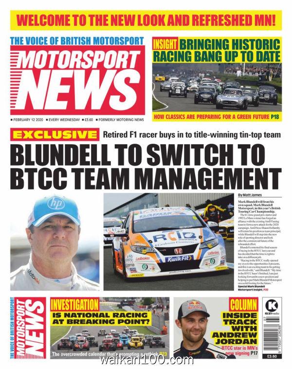 Motorsport News 2月刊 12 2020年 [32MB]