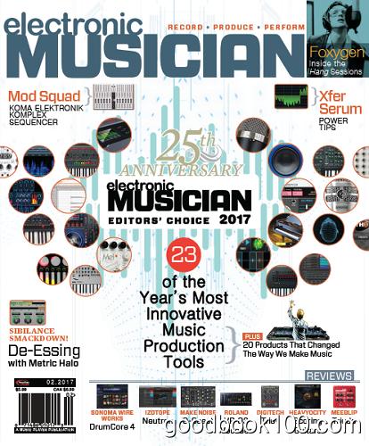 Electronic Musician – February 2017