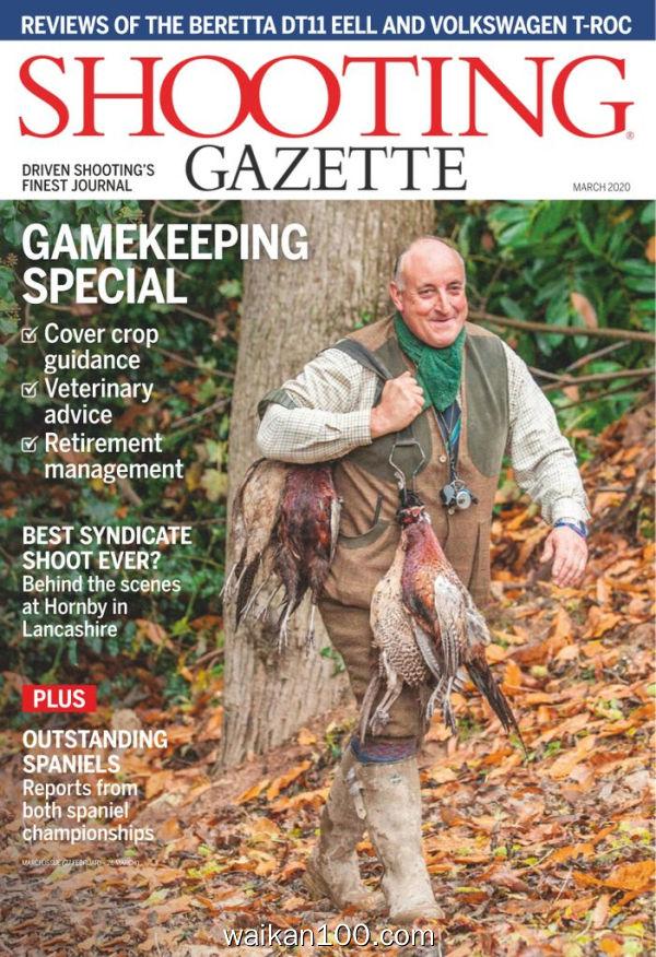 Shooting Gazette 3月刊 2020年 [96MB]
