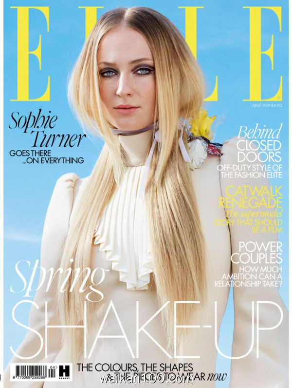 [英国版]Elle 4月刊 2020年高清PDF电子杂志外刊期刊下载英文原版