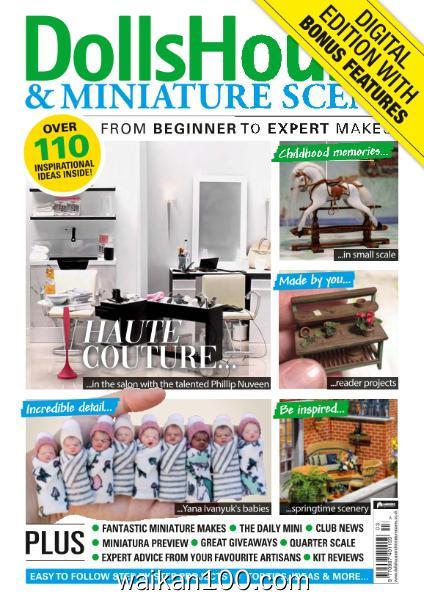 Dolls House&Miniature Scene 总期数No.310 3月刊 2020年 [29MB]