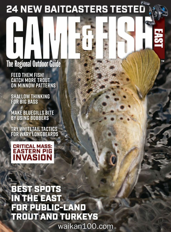 Pennsylvania Game&Fish 4月刊 2020年 [40MB]