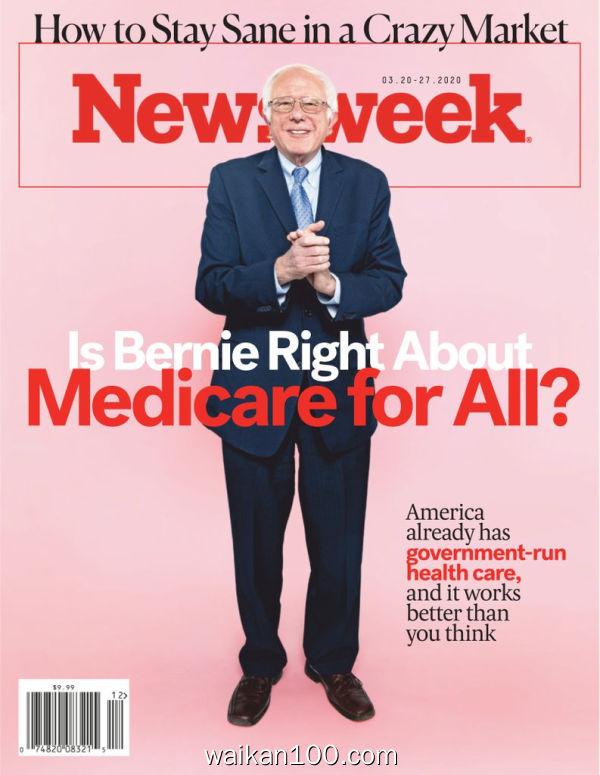 [美国版]Newsweek 3月刊 20 2020年 [45MB]