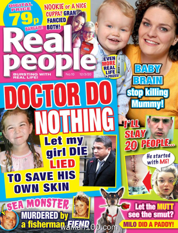 Real People 12 3月刊 2020年 [27MB]