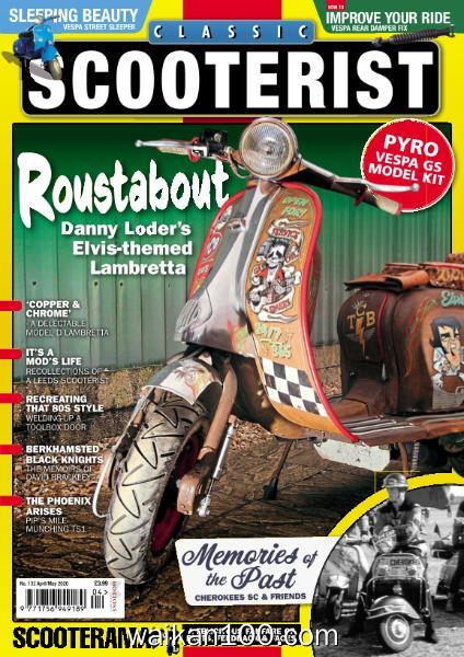 Classic Scooterist 总期数No.132 4月5月合刊 2020年 [54MB]