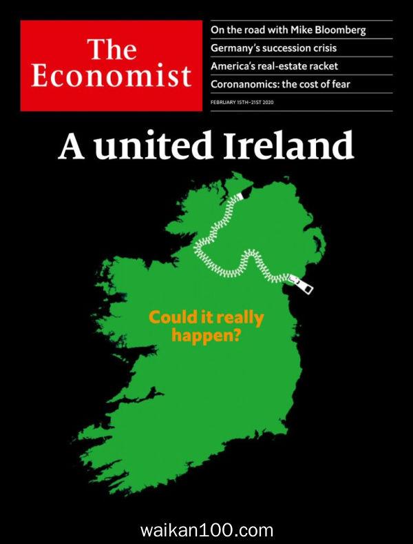 [美国版]The Economist 2月刊 15 2020年高清PDF电子杂志外刊期刊下载英文原版