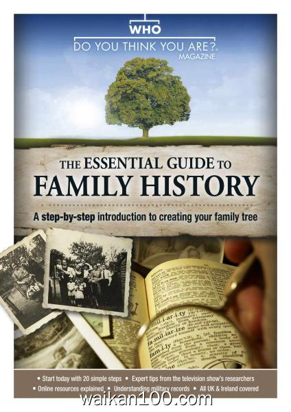 Who Do You Think You Are Special Edition The Essential Guide to Family History 3月刊 2020年 [95MB]