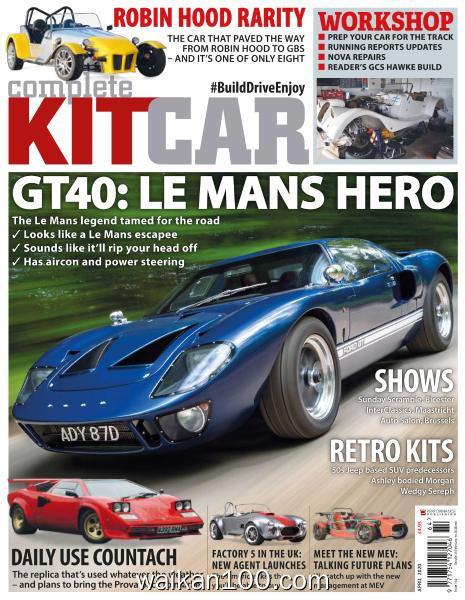 Complete Kit Car 4月刊 2020年高清PDF电子杂志外刊期刊下载英文原版