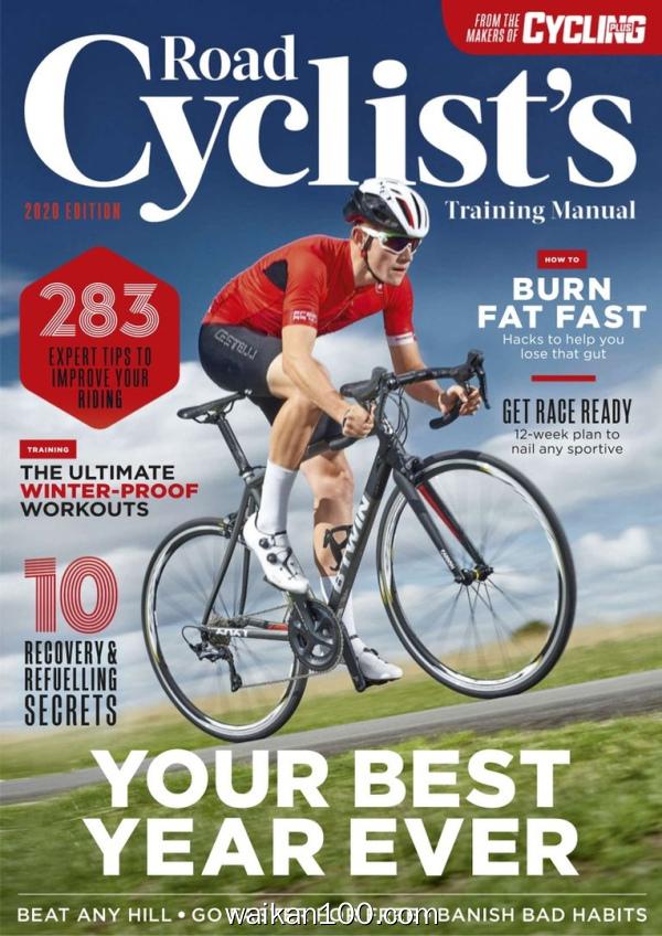 Road Cyclists Training Manual 2月刊 2020年高清PDF电子杂志外刊期刊下载英文原版