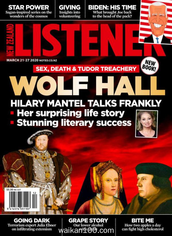 New Zealand Listener 3月刊 21 2020年 [57MB]