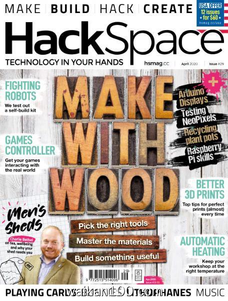HackSpace 4月刊 2020年 [24MB]