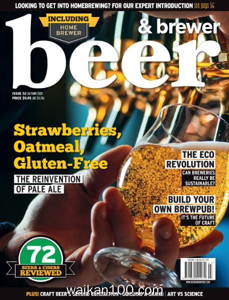 Beer&Brewer Autumn 2020年 [20MB]