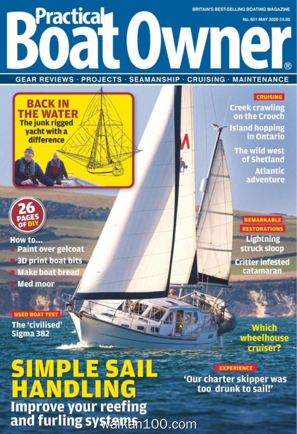 Practical Boat Owner 5月刊 2020年 [84MB]