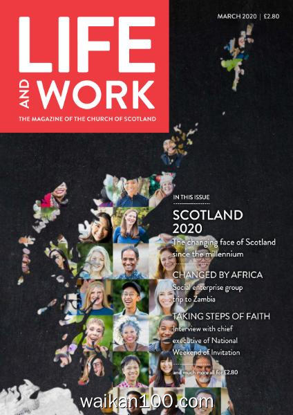 Life and Work 3月刊 2020年 [15MB]