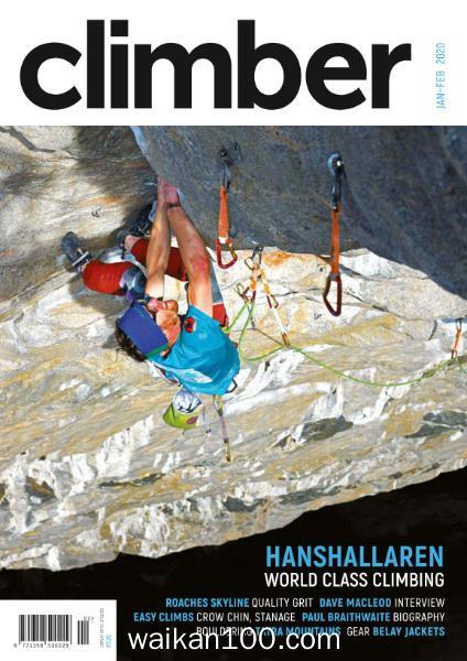 Climber 1月2月合刊 2020年高清PDF电子杂志外刊期刊下载英文原版