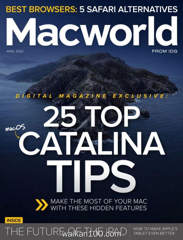 [美国版]Macworld 4月刊 2020年 [38MB]