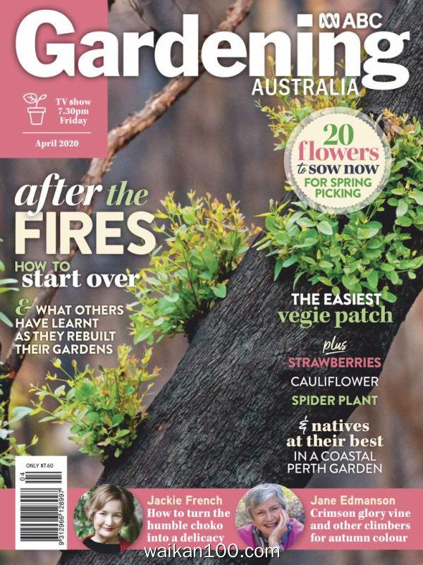 [澳大利亚版]Gardening 4月刊 2020年高清PDF电子杂志外刊期刊下载英文原版