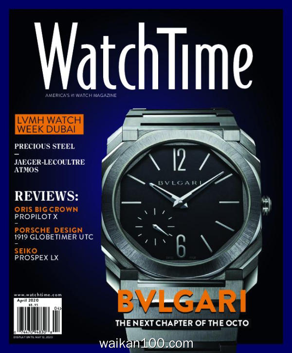 WatchTime 3月刊 2020年 [19MB]