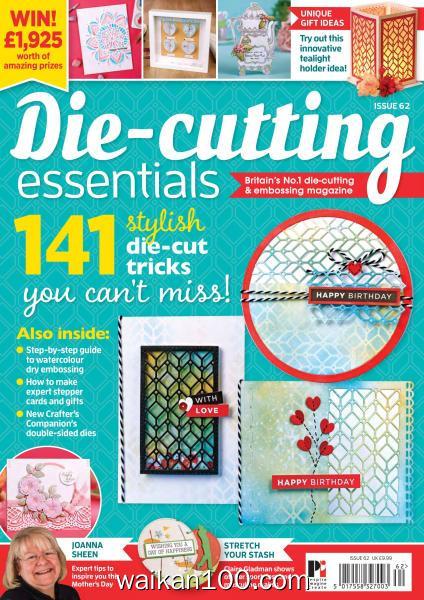 Die cutting Essentials 总期数No.62 2月刊 2020年高清PDF电子杂志外刊期刊下载英文原版
