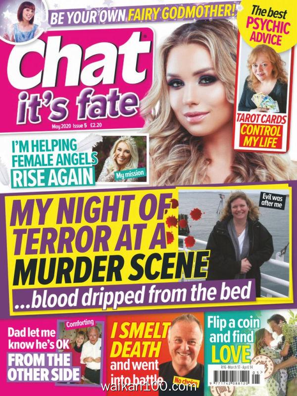 Chat It's Fate 5月刊 2020年高清PDF电子杂志外刊期刊下载英文原版