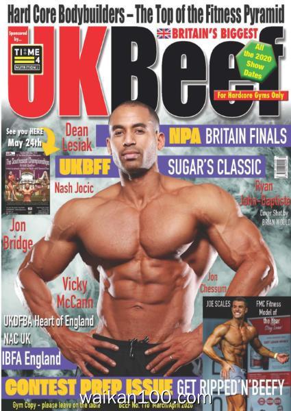 UK Beef 总期数No.110 3月刊 Apil 2020年高清PDF电子杂志外刊期刊下载英文原版