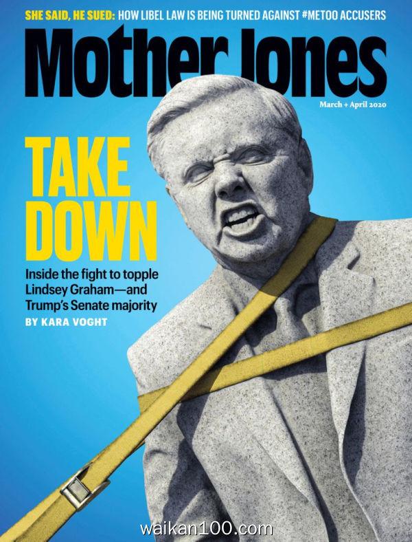Mother Jones 3月刊 01 2020年高清PDF电子杂志外刊期刊下载英文原版