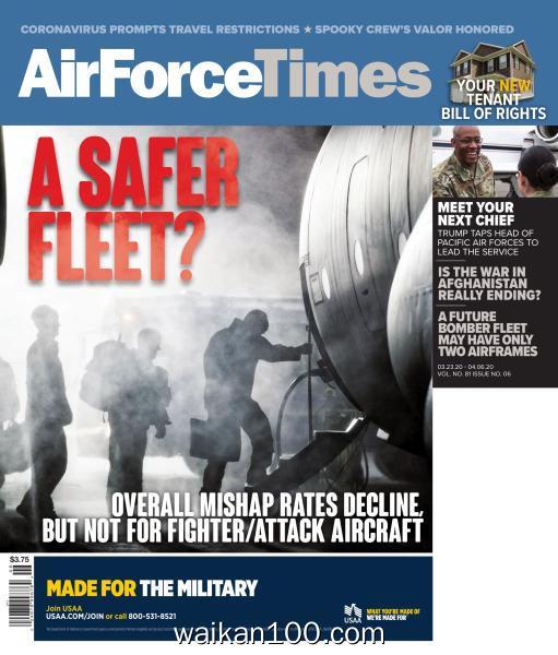 Air Force Times 3月刊 23 2020年 [34MB]