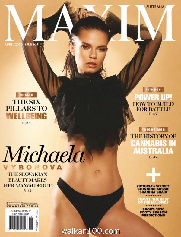 [澳大利亚版]Maxim 4月刊 2020年 [42MB]