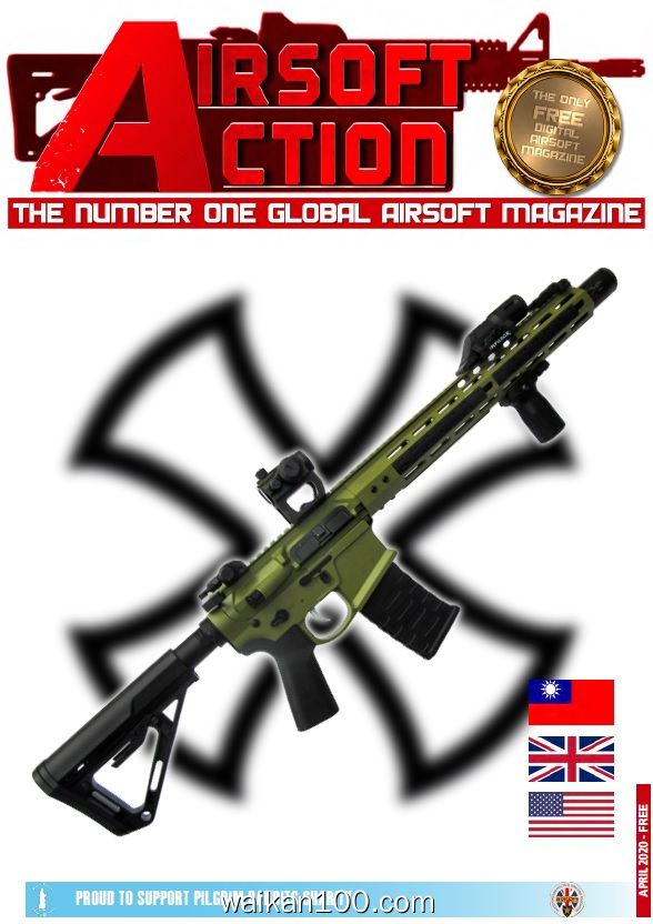 Airsoft Action 4月刊 2020年 [186MB]