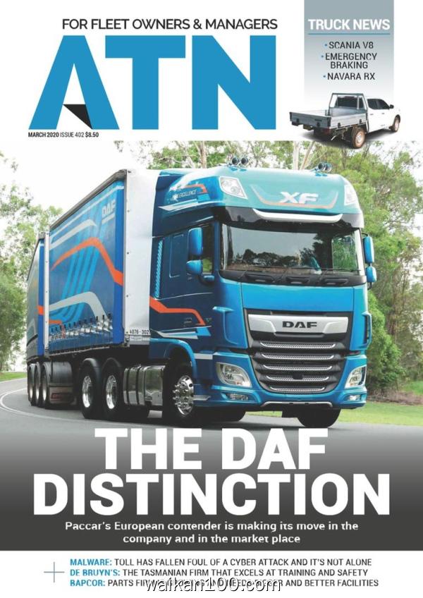 Australasian Transport News ATN 3月刊 2020年 [83MB]