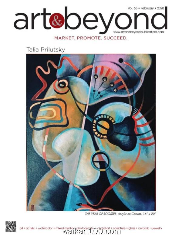 Art&Beyond 2月刊 2020年高清PDF电子杂志外刊期刊下载英文原版