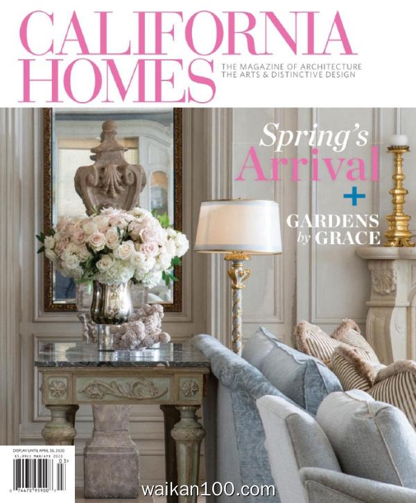 California Homes 3月4月合刊 2020年 [24MB]