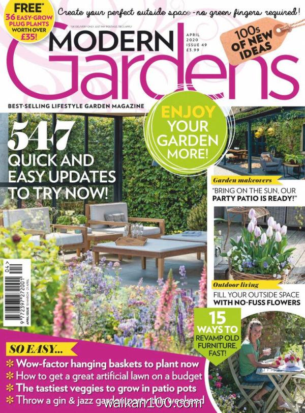 Modern Gardens 4月刊 2020年 [94MB]