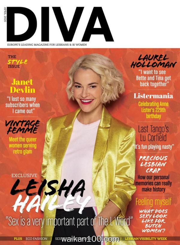 [英国版]Diva 4月刊 2020年 [67MB]