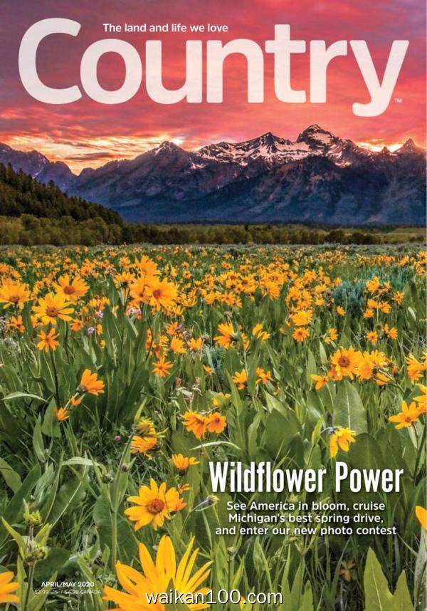 Country 4月5月合刊 2020年 [81MB]