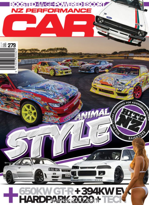 NZ Performance Car 3月刊 2020年高清PDF电子杂志外刊期刊下载英文原版