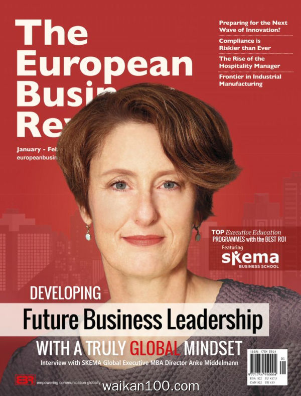 The European Business Review 1月2月合刊 2020年高清PDF电子杂志外刊期刊下载英文原版