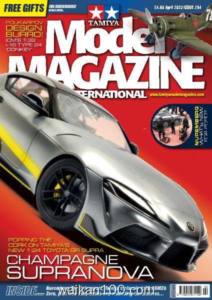 Tamiya Model Magazine 总期数No.294 4月刊 2020年高清PDF电子杂志外刊期刊下载英文原版