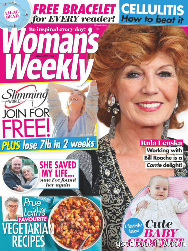Woman_39_s_Weekly_UK_-_03_March_2020英文原版高清PDF电子杂志下载