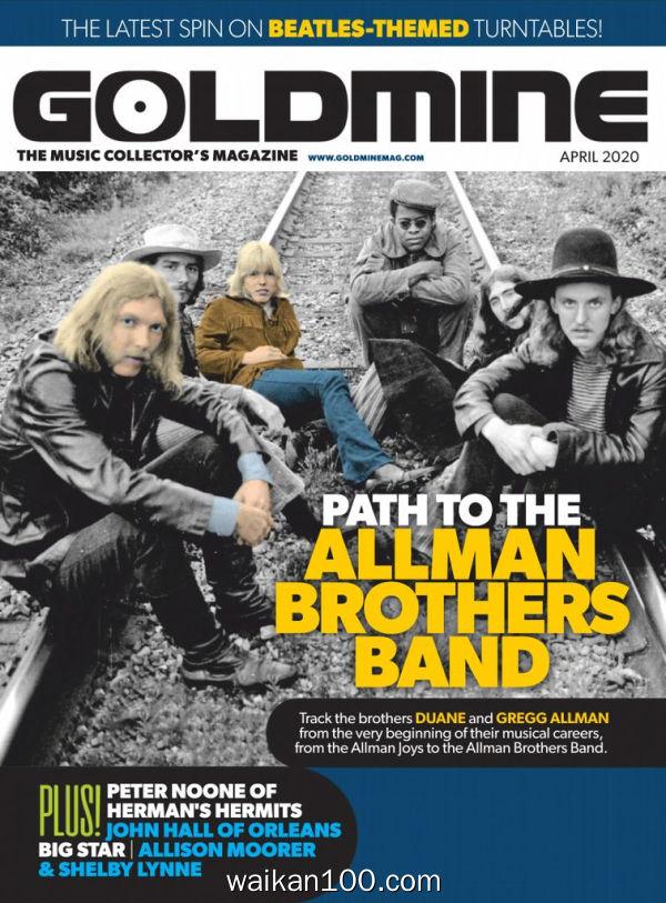 Goldmine 4月刊 2020年高清PDF电子杂志外刊期刊下载英文原版