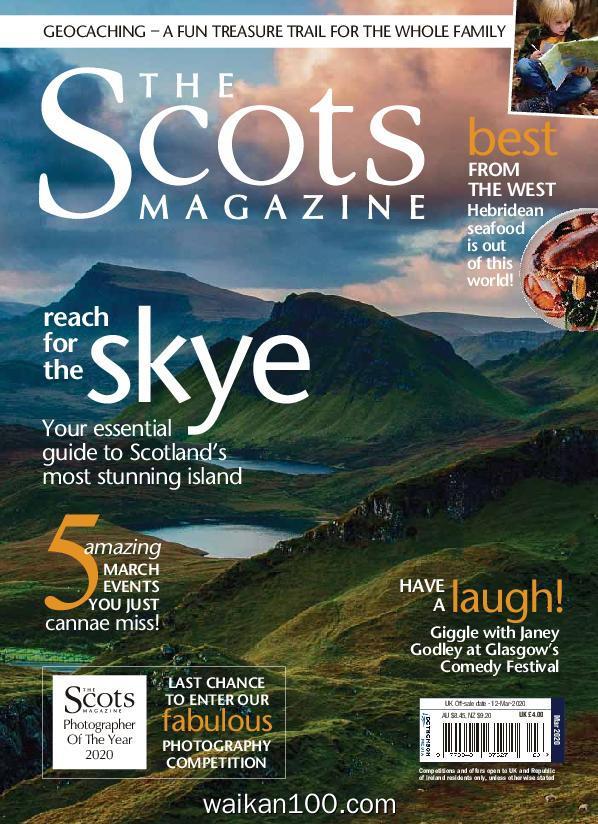 The Scots Magazine 3月刊 2020年高清PDF电子杂志外刊期刊下载英文原版