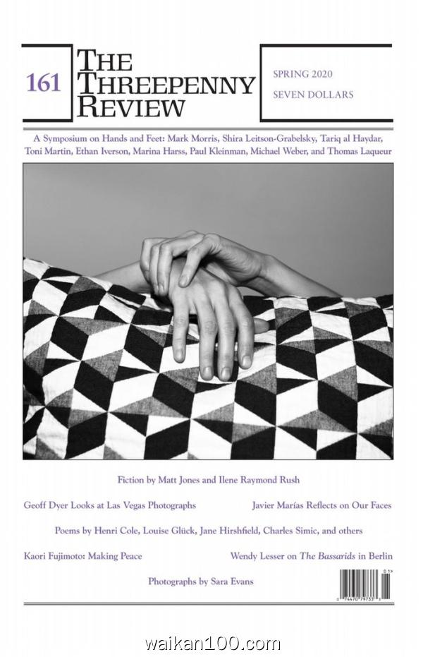 The Threepenny Review 3月刊 2020年高清PDF电子杂志外刊期刊下载英文原版